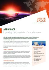 Aesir Space Factsheet Cover Image