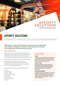 Affinity Solutions Fact Sheet Cover Image