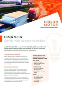 Edison Motor Factsheet Cover Image
