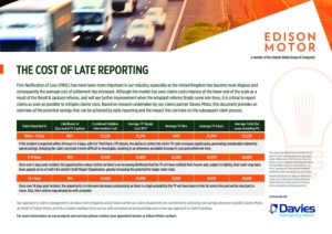 Cost Of Late Reporting Fact Sheet Cover Image