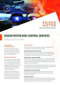 Risk Control Factsheet Cover Image