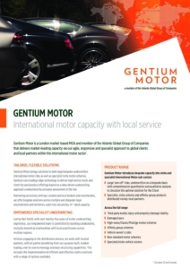 Volante International Motor Factsheet Cover Image